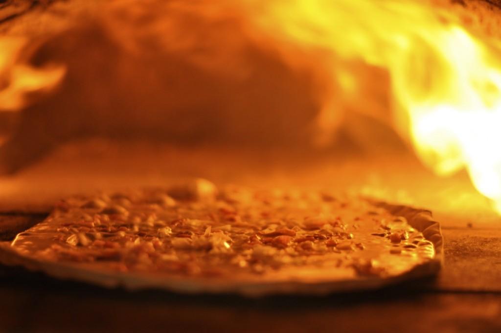 © Emmanuel Wanner ... le Dimanche soir en Alsace c'est tartes flambées.